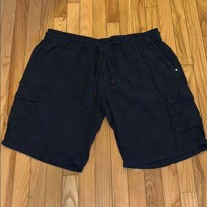 Vilebrequin Men's Cargo Linen Bermuda shorts